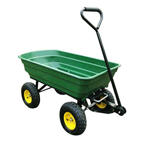 HOMCOM Chariot de Jardin a Main Garden cart...